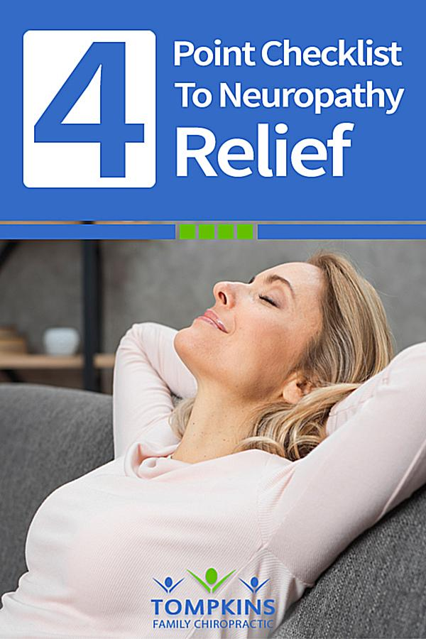 4 Point Checklist For Neuropathy Relief