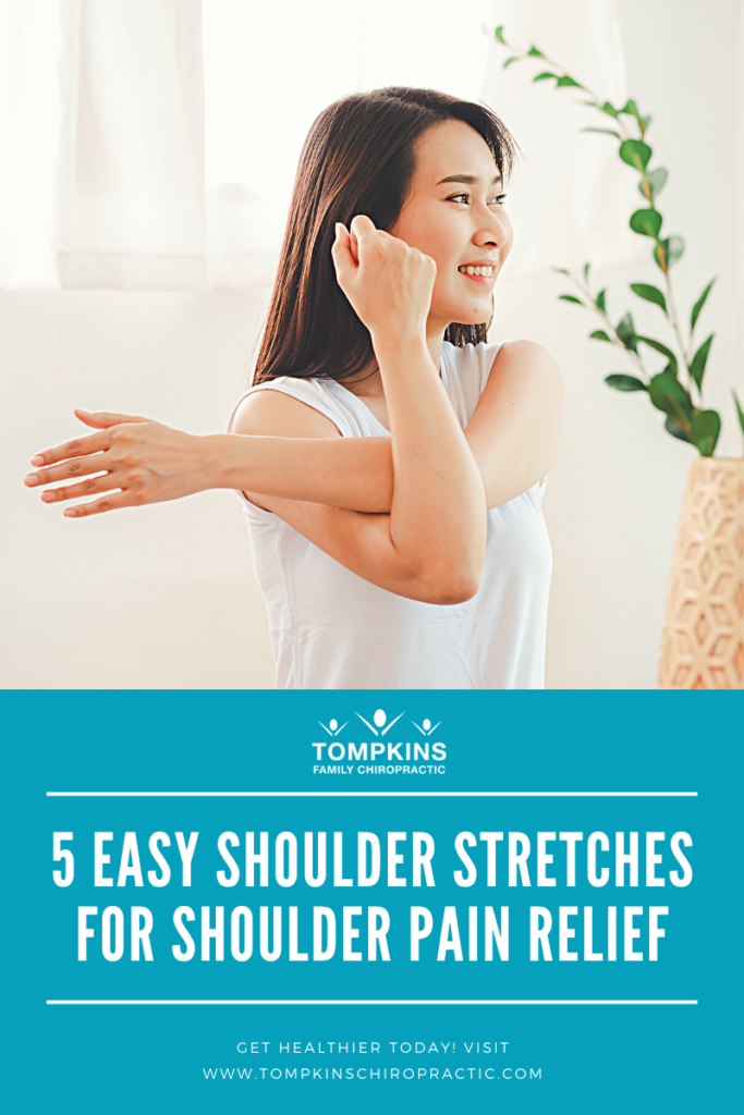 5 Easy Shoulder Stretches to Relieve Shoulder Pain with Dr. Tompkins